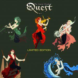 Green Clouds musica celtica brani e album The Quest